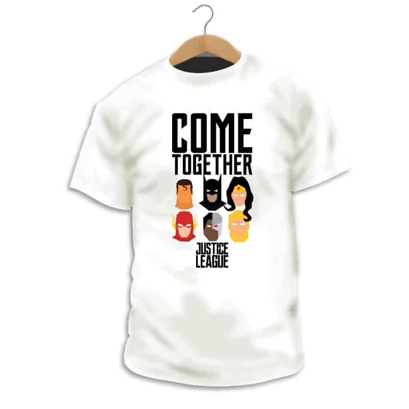 Camiseta Come Together - Camarada Camisetista