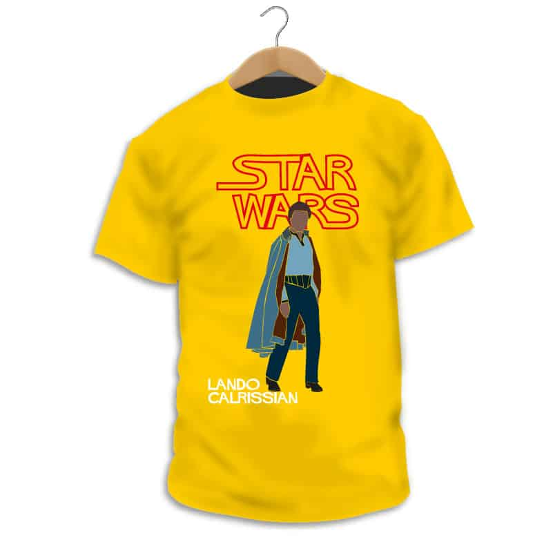 Camiseta Lando Calrissian - Camarada Camisetista