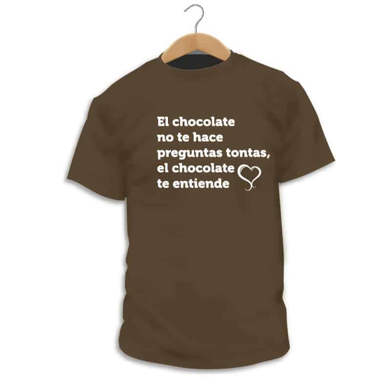 Camiseta Chocolate - Camarada Camisetista