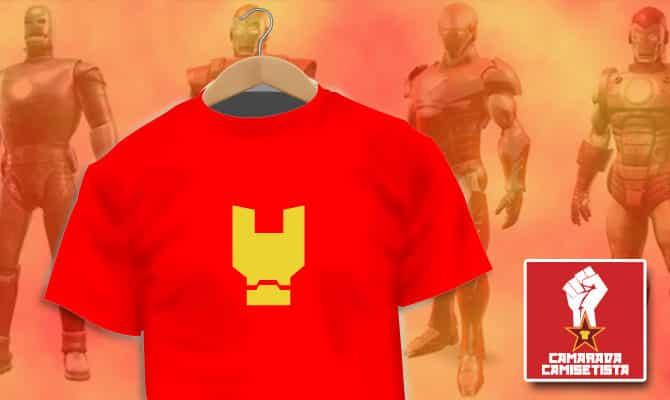 Camiseta Iron Man Minimalist