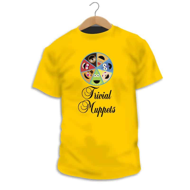 Camiseta Trivial Muppets - Camarada Camisetista