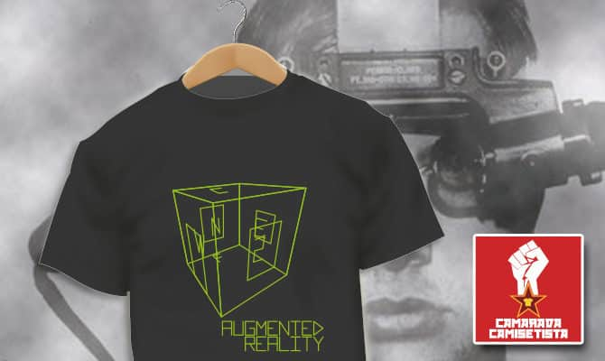 Camiseta Augmented Reality