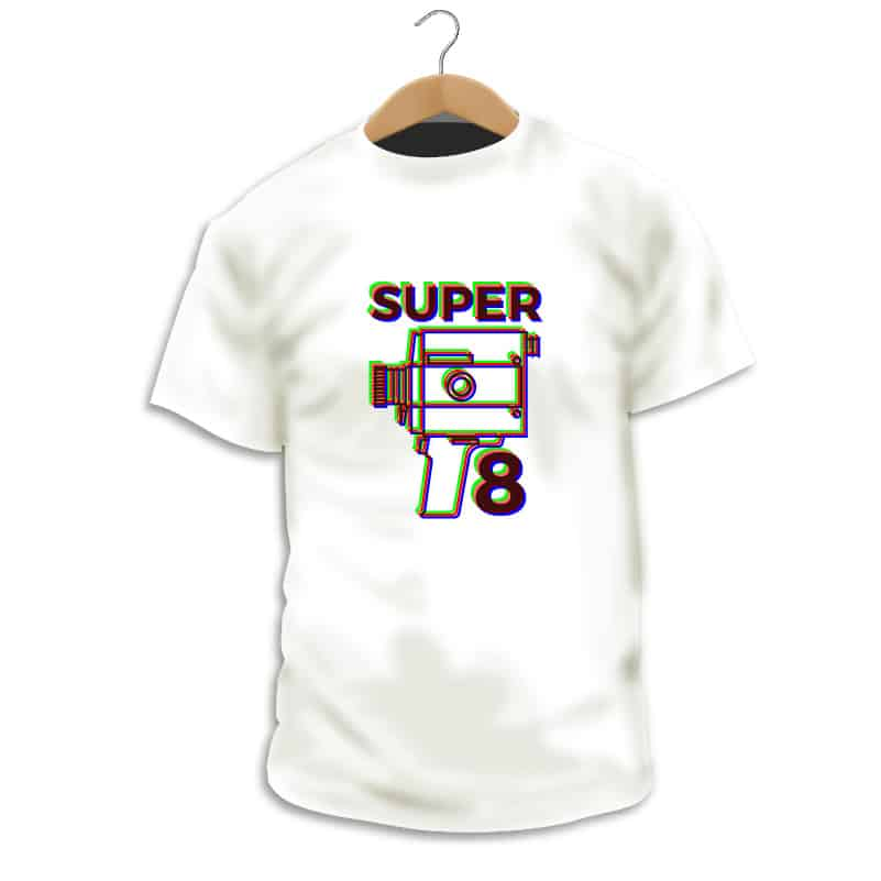 Camiseta Super 8 - Camarada Camisetista