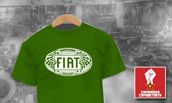 Camiseta Fiat Vintage