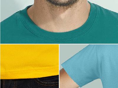 Detalles camiseta unisex