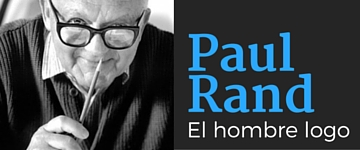Camiseta Paul Rand - El hombre logo