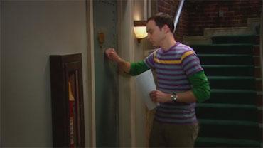 Camiseta Sheldon knock, knock, knock, Penny x3