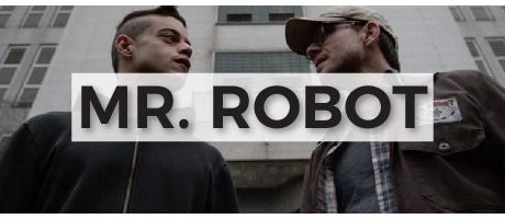 Camisetas sobre la serie Mr. Robot