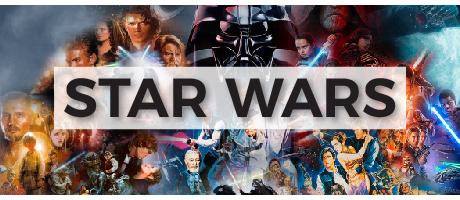 Camisetas de la Guerra de las Galaxias